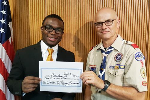 Jenkins awarded scholarship