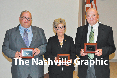 Three inducted into Nash County Hall of Fame
