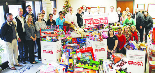 Rocky Mount business has record year for  annual Toys for Tots donations