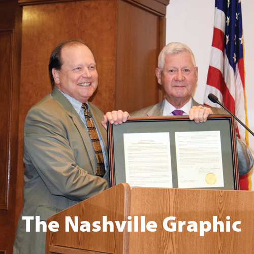 County honors NCC president