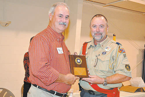 Tyson named Coopers Ruritan of the Year