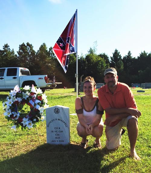 Civil War soldier honored