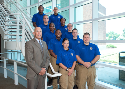 Ten complete Basic Law Enforcement Training at ECC