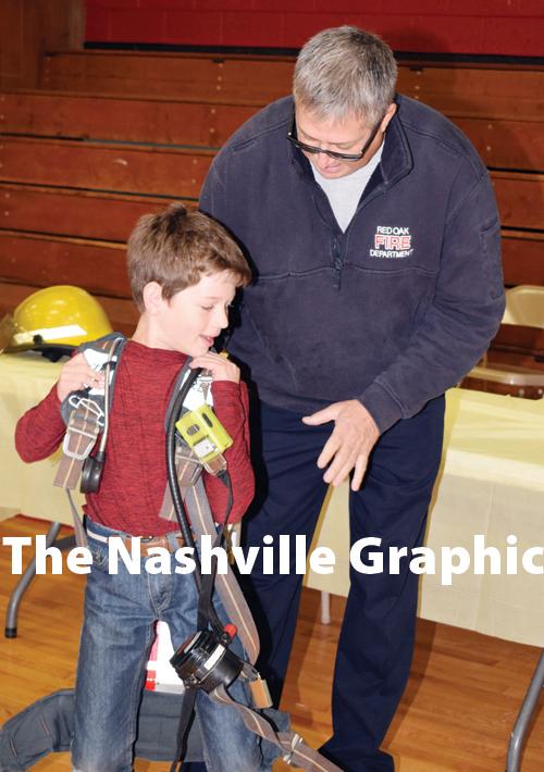 Red Oak Elementary School career fair pics, 2