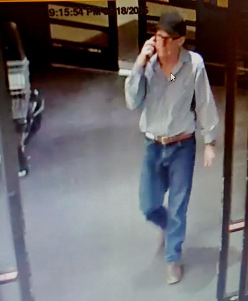 Police seek robbery suspect