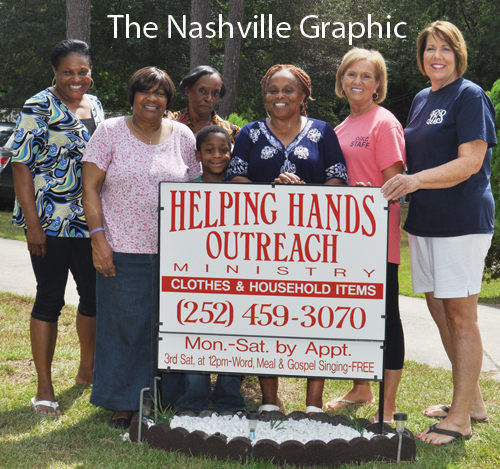 Church donates sign to ministry