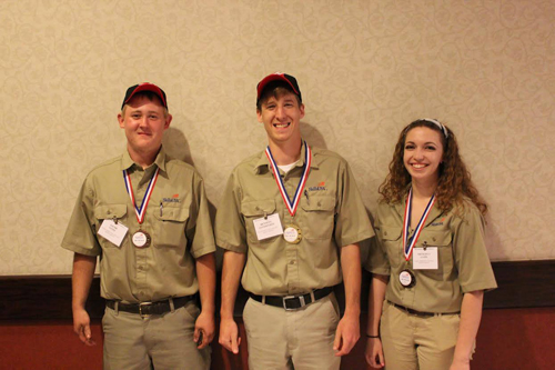 NCC students earn awards at SkillsUSA state competition