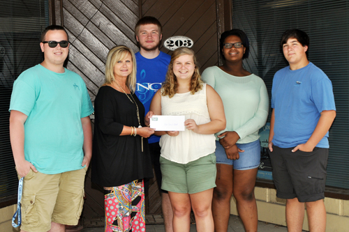 NCHS Band boosters raise funds