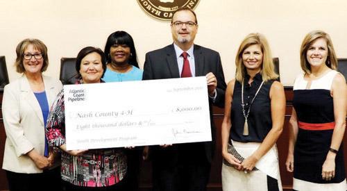 ACP gives to Nash County 4-H