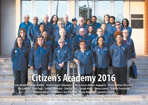 Nash recognizes Citizens Academy Grads