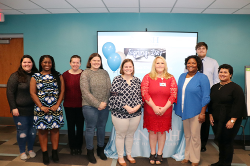 Nash UNC hosts Nurse Scholars Signing Day