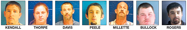 Six arrested for home repair fraud