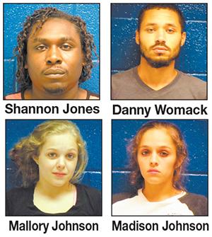 Four arrested for homicide