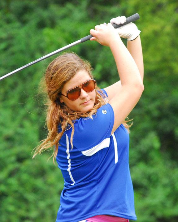 Golfers compete in region